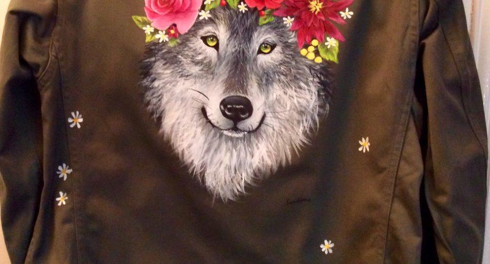 Loup romantique