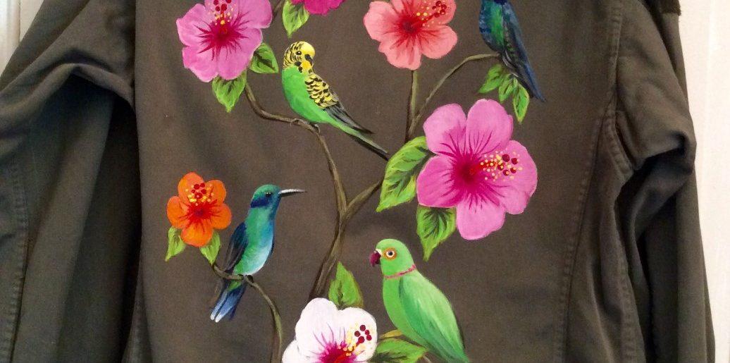Colibris et perruches