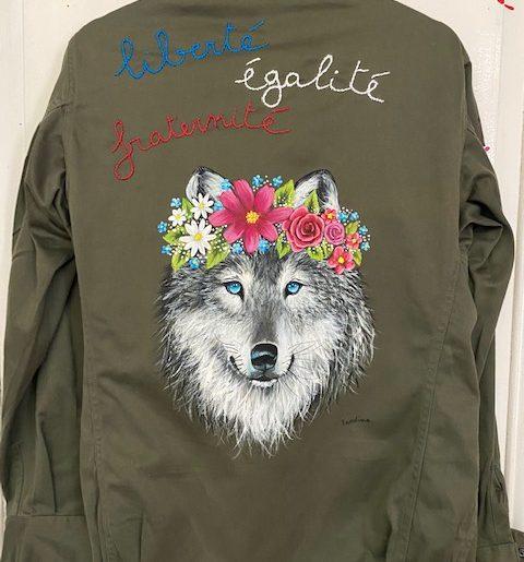 Loup Liberté Egalité Fraternité